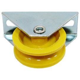 鋁門戶車小紗門PVC三角★用於鋁門、鋁窗主要用品之一
