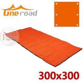 探險家戶外用品㊣ZA36 一路ONEROAD防水地墊 (300*300) 防潮地布防潮墊帳篷地墊帳棚地布帳蓬外墊