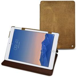 曠野棕 NOREVE 蘋果 Apple iPad Air 2「 iPad Air2」 2代 第二代 磁扣式皮革保護套 真皮皮套 smart cover  訂製 法國頂級平板皮套