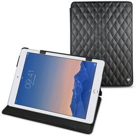 黑色菱格 NOREVE 蘋果 Apple iPad Air 2「 iPad Air2」 2代 第二代 磁扣式皮革保護套 真皮皮套 smart cover  訂製 法國頂級平板皮套