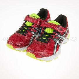 6折出清~Asics~兒童 黏扣 輕量 休閒 慢跑 運動鞋 (C461N-2301)