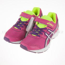 6折出清~Asics~兒童 黏扣 輕量 休閒 慢跑 運動鞋 (C522N-2093)