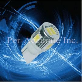 PA T10 6晶 LED 1.5W 超高亮度 白光炸彈燈 小燈 方向燈 倒車燈 室內燈