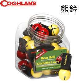 丹大戶外【Coghlans】Colored Bear Bell with Magnetic