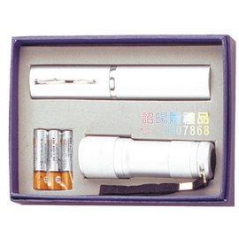 ^~詔暘禮贈品^~ ~ T08綜合 類~ 組~CE48 不鏽鋼 筷 九燈超亮手電筒 ×1組