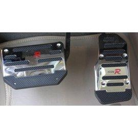 ~車王小舖~日產 Nissan車系 型油門踏板 改裝油門踏板 車用防滑腳墊 鋁合金免打孔