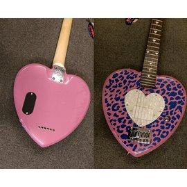 亞洲樂器 DAISY ROCK艾薇兒御用品牌 豹紋愛心女用電吉他