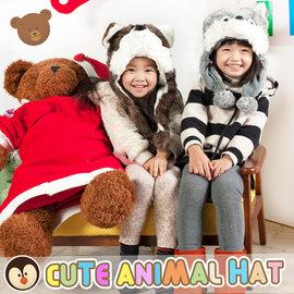 聖誕帽~UHO~超Q 動物 總動員 帽 保暖帽 兒童帽 動物帽