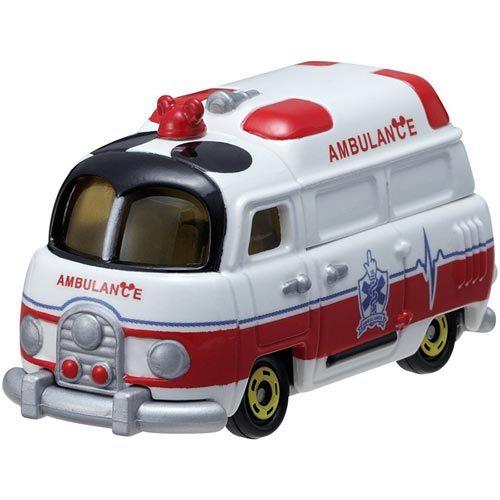 【日本tomica迪士尼小汽车】dm-10 梦幻米奇救护车(ds45421)