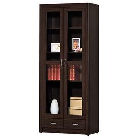 ~ 屋~^~G15^~艾力森胡桃色2.7尺下抽書櫃226~2 製 免 免組裝 書櫃 抽屜櫃