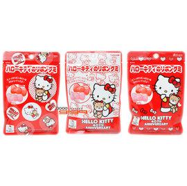 缺貨@-【吉嘉食品】Kabaya卡巴屋 Hello Kitty蝴蝶結造型軟糖(蘋果+桃子) 1包40公克43元,日本進口{4901550266716:1}
