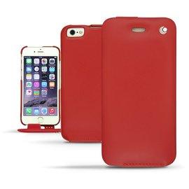紅色 NOREVE iPhone6 iPhone 6 plus i6 i6+ 5.5吋 4.7吋 下掀式皮套 保護套 手機套 真皮 手工 訂製  腰掛  iPhone6+ 法國頂級手機皮套