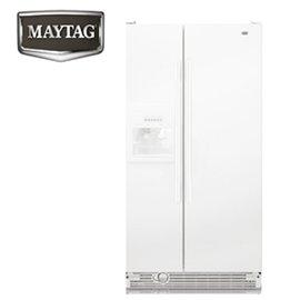 『美泰克』☆710L對開電外置式取水取冰 冰箱 MSF25D2EAW **免運費+基本安裝**