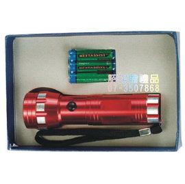 ^~詔暘禮贈品^~ ~ T08綜合 類~ 組~SE23 14LED 強光鋁合金手電筒 電池