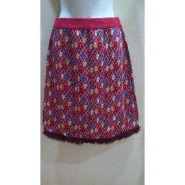 日系專櫃BELLE VIE服飾~女紅.綠.黑色三款花格子裙