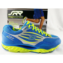 【MYVINA 維娜】SKECHERS 男鞋 SRR動力回彈 遙遙鞋 健走鞋 運動鞋 足弓鞋  (藍) 999636BLLM