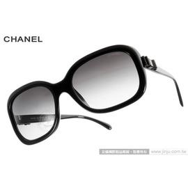 CHANEL 太陽眼鏡 CN5280Q C501S6  黑  小香蝴蝶結淑女款 墨鏡 #