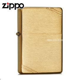 ~詮國~Zippo 美系 打火機 ~ 1937年復刻版 ~ 黃銅髮絲紋面 Vintage