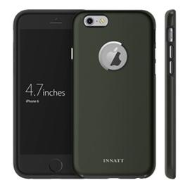 INNATT iPhone6天賦尊爵~雙料金屬鍍膜專利導音保護殼黑色