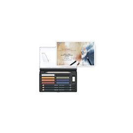 雄獅 GPS~12 隨身粉彩彩繪組^(組^)^~繪畫美工素描的好幫手^~