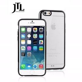 JTL  Apple IPhone 6 PLUS 5.5吋 雙料防震圈保護殼-(黑) 雙料材質設計/全包式環繞/防刮/耐衝擊 ~分期0利率~
