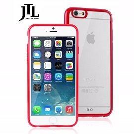 JTL  Apple IPhone 6 PLUS 5.5吋 雙料防震圈保護殼-(紅) 雙料材質設計/全包式環繞/防刮/耐衝擊 ~分期0利率~