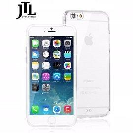 JTL  Apple IPhone 6 PLUS 5.5吋 雙料防震圈保護殼-(透) 雙料材質設計/全包式環繞/防刮/耐衝擊 ~分期0利率~