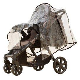 【紫貝殼】『GE74-2』欣康-左右型雙人雨罩 (適用多款推車雨罩) 用於雙人推車左右並排型70cm~78cm