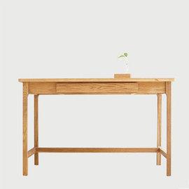 5Cgo ~ 七天交貨~ 26594944349 白橡木日式簡約書桌實木台式桌雙人原木辦公