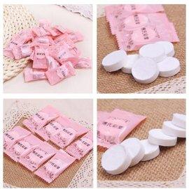 壓縮面膜紙膜50 100粒無紡布diy純棉化妝美容工具 一次性面膜紙