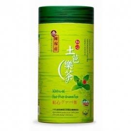 陳稼莊 紅心土芭樂茶^(紙罐^) 300公克^(5g×60簡易茶包^) 罐~A07016~