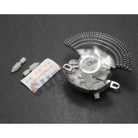 小QQ 顯示卡 散熱器 加大版 鋁合金 維修 靜音 風扇 5.5公分 6CM  ATI N