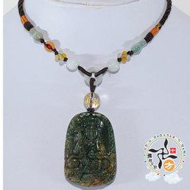 ~十方 ~ 地藏菩薩^~印度瑪瑙^~項鍊