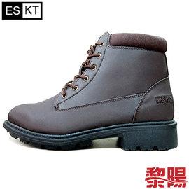 ~黎陽戶外用品~ESKT 男款 中統 雪鞋 SN210 咖啡  拉鍊雪靴 冰爪 內層The