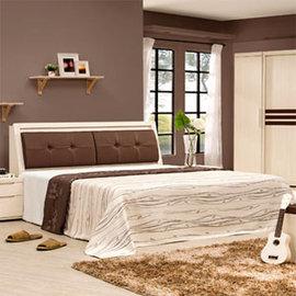 ~Homelike~愛麗絲床組~雙人加大6尺^(不含床墊^) 雙人床 加大床組 床台 床頭
