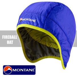 【英國 Montane】FireBall Primaloft 極輕量火球防潑水科技羽絨保暖帽(附收納袋/僅34g)/防風透氣護耳帽(非 OR SmartWool)_鈷藍色 HFIHA
