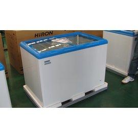 【海容】《HiRON》350L/3尺7◆玻璃推拉冷凍櫃《HSD-358/HSD358》