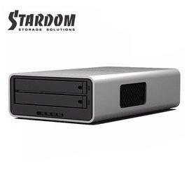 【 附發票】STARDOM MR2-WB3 2.5吋 USB3.0 FW800 2bay