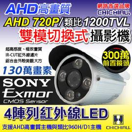 ~CHICHIAU~AHD 720P SONY 130萬畫素1200TVL^(類比1200