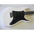 *翊銘樂器城*Ibanez GRX-55 白色 電吉他 GRX55 雙單雙 日本品牌