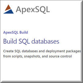 ApexSQL Build with a 1 year subscription 商業單機