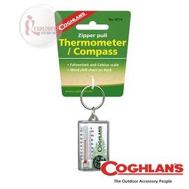 探險家戶外用品㊣9714 加拿大coghlan s 溫度指北針 溫度計 鑰匙圈 非指南針
