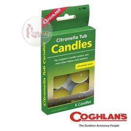 探險家戶外用品㊣9806 加拿大coghlan's 香茅小蠟燭 香茅油驅蚊防蟲蠟燭 驅蟲蠟燭驅蚊燈泡