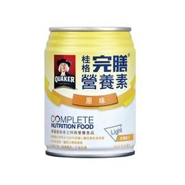 桂格完膳營養素含纖配方250ml-原味(24罐裝)