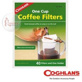 探險家戶外用品㊣9570 加拿大coghlan's 咖啡濾紙  咖啡濾架用紙 可過濾雜質 濾淨雜質 戶外 登山 露營