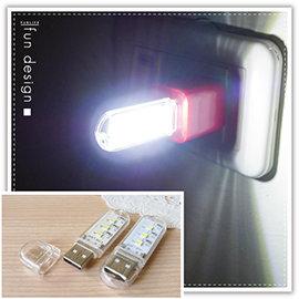 【Q禮品】B2292 迷你USB燈/應急照明/行動電源Led手電筒/照明燈/閱讀燈/可接行動電源變露營燈