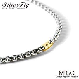 ~ SilverFly銀火蟲銀飾 ~~MiGO~熱情白鋼項鍊~小