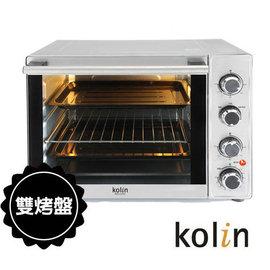 ◤贈電子秤+隔熱手套◢ Kolin 歌林 35L三溫控油切旋風大烤箱 KBO-LN352