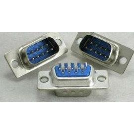 (工程用) RS232公頭 / 焊接頭(DB9) 9Pin 轉接頭/轉換器 (附塑殼+螺絲)