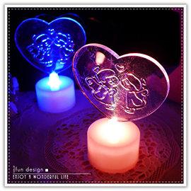【winshop】A2298 七彩情侶LED燈/七彩愛心燈/LED情侶燈/天使心形燈/情人節/求婚/婚禮會場佈置